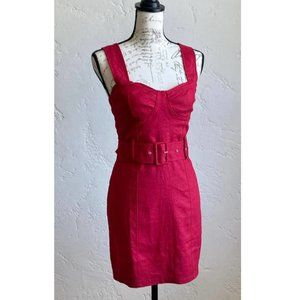 PACSUN Me to We Belted Bustier Mini Dress SM NWT